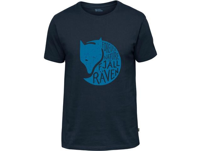 Fjällräven Forever Nature Fox T-Shirt Uomo, navy
